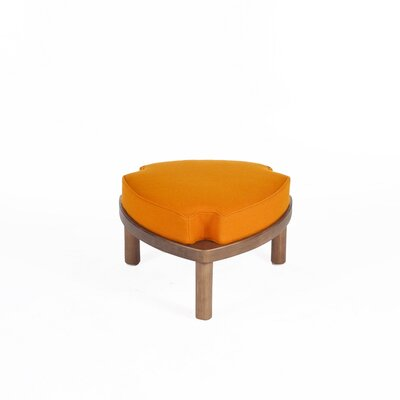 Erik Stackable Ottoman Upholstery: Orange