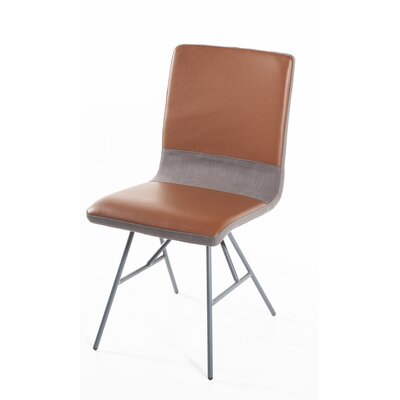 Arryn Genuine Leather Upholstered Dining Chair