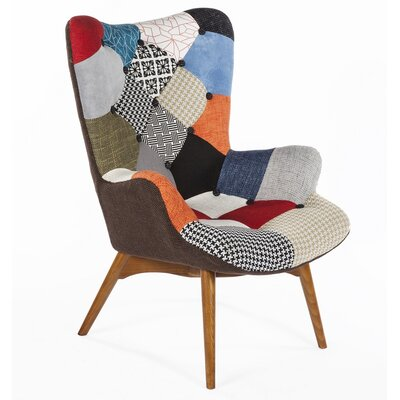 The Luxe Teddy Wingback Chair