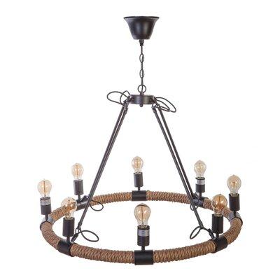 Eliska 8-Light Candle-Style Chandelier