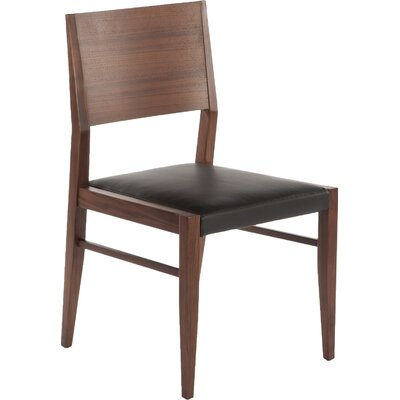 Lillehammer Genuine Leather Upholstered Dining Chair