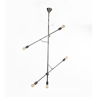 Rjukan 5-Light Sputnik Chandelier