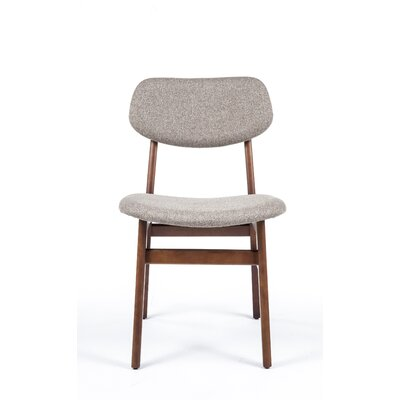 Side Chair Upholstery Color: Brown