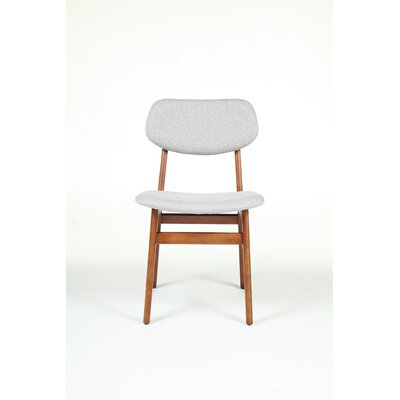 Side Chair Upholstery Color: Gray