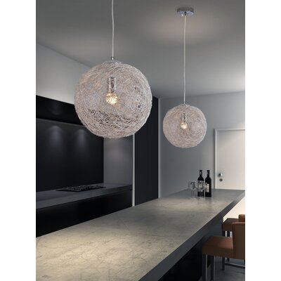 Opulence 1-Light Globe Pendant