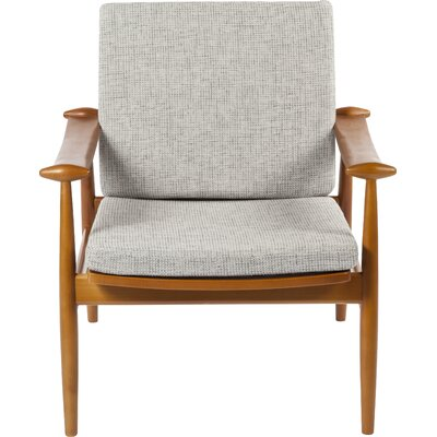 Perm Lounge Chair Color: Gray