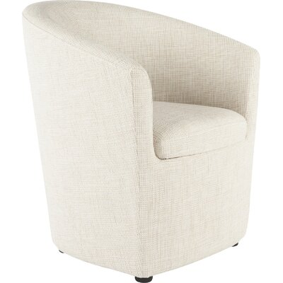 Tykby Barrel Chair Color: Beige