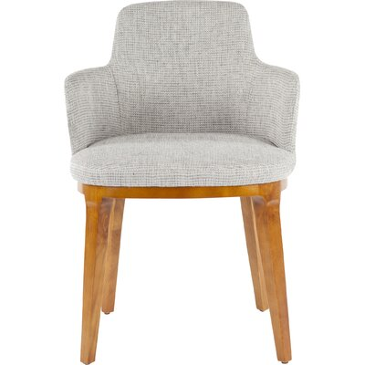 Bilbao Barrel Chair Upholstery: Gray