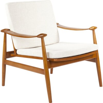 Perm Lounge Chair Color: Beige