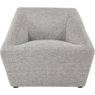 Luxor Lounge Chair Upholstery: Gray