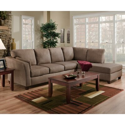 Broome Sectional Upholstery: Dark Brown
