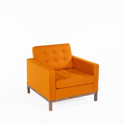 Dexter Lounge Chair Upholstery: Orange