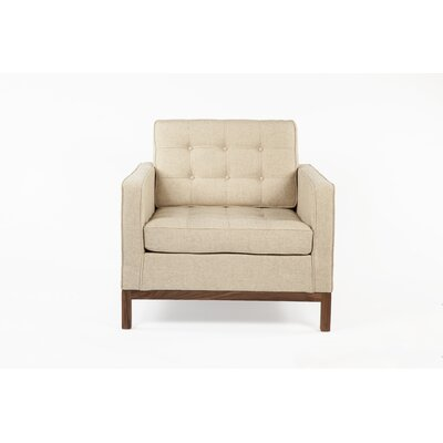 Dexter Lounge Chair Upholstery: Beige