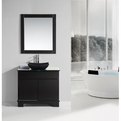 Penton 36 Single Bathroom Vanity Set with Mirror