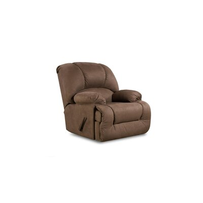 Inglewood Manual Recliner Upholstery: Dark Brown