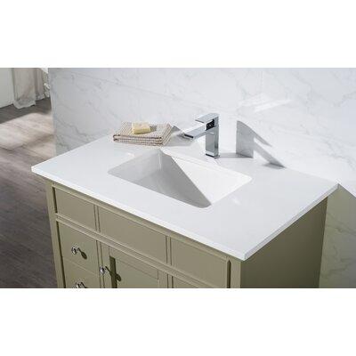 Dyer 37 Single Bathroom Vanity Set