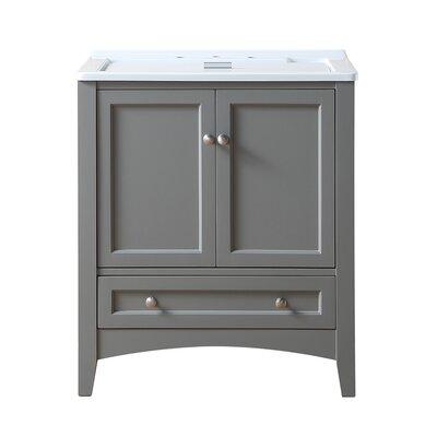 Swanson 30.5 x 22 Single Laundry Sink Finish: Acrylic Grey