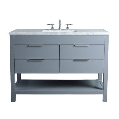 Knorr 48 Single Bathroom Vanity Set Base Finish: Gray