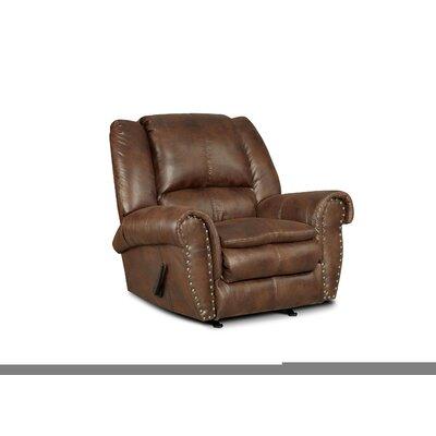 Santa Manual Rocker Recliner Upholstery: Padre Espresso