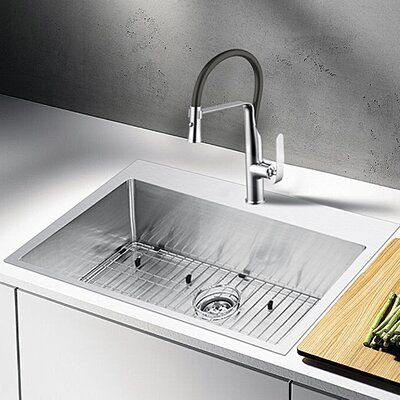 Water Creation 33 x 22 Drop-In Kitchen Sink