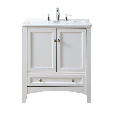 Swanson 30.5 x 22 Single Laundry Sink Finish: Pure White