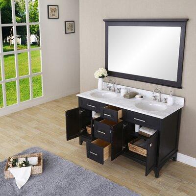 Paton 60 Double Bathroom Vanity Set