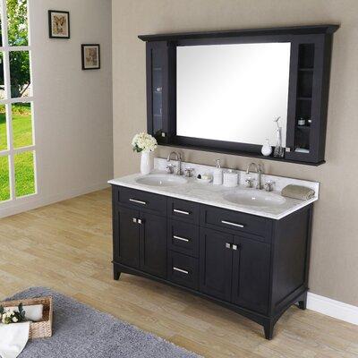 Paton 60 Double Bathroom Vanity Set with Mirror