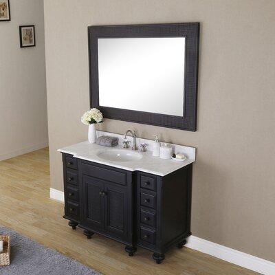 Carlson 48 Single Bathroom Vanity Set with Mirror