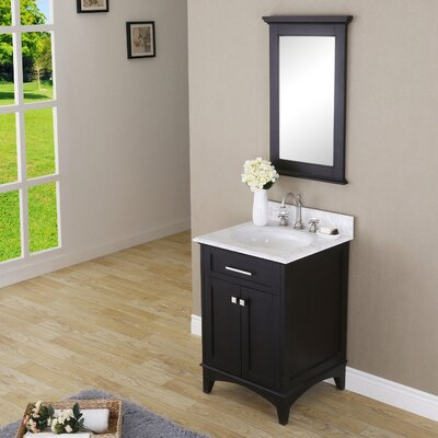Paton 24 Single Bathroom Vanity Set with Mirror
