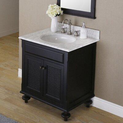Carlson 30 Single Bathroom Vanity Set with Mirror