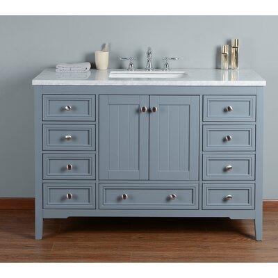 Murchison 48 Single Bathroom Vanity Set Base Finish: Gray
