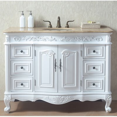 Brockington 48 Single Bathroom Vanity Set