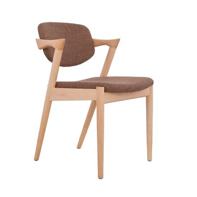 Levanger Armchair Upholstery: Brown