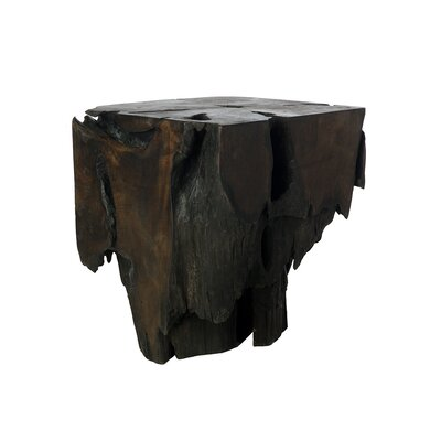Bristol Point Triple Burnt Teak End Table