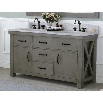 Cleora 60 Double Bathroom Vanity Set