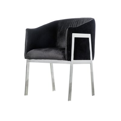 Betterton Armchair Upholstery: Black