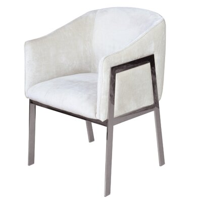 Betterton Armchair Upholstery: White