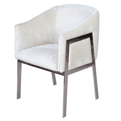 Betterton Armchair Upholstery: White