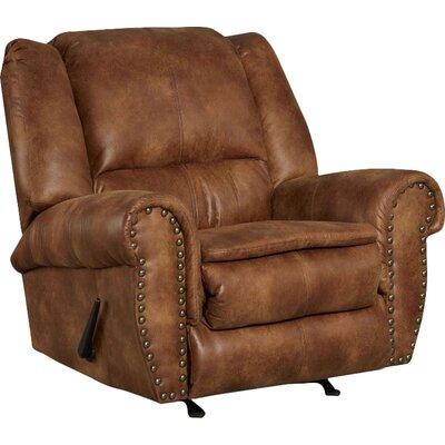 Santa Manual Rocker Recliner Upholstery: Padre Almond
