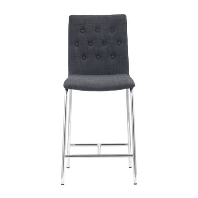 Uppsala Side Chair Upholstery: Graphite