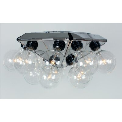 Hollywood 88 15-Light Flush Mount