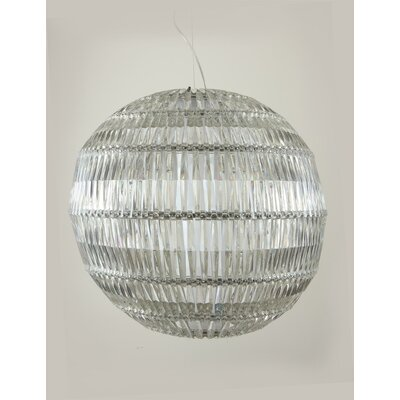 Rockstar 1-Light Globe Pendant