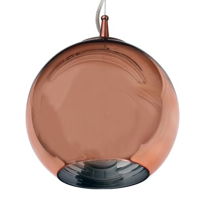 The One 1-Light Globe Pendant Finish: Gold
