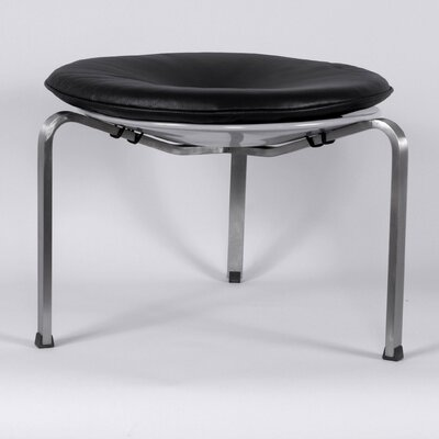 14.13 inch Bar Stool Upholstery: Black