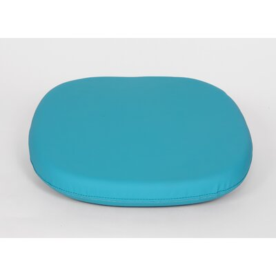 Dining Chair Cushion Size: 4.50 H x 17.50 W x 17.50 D, Color: Blue