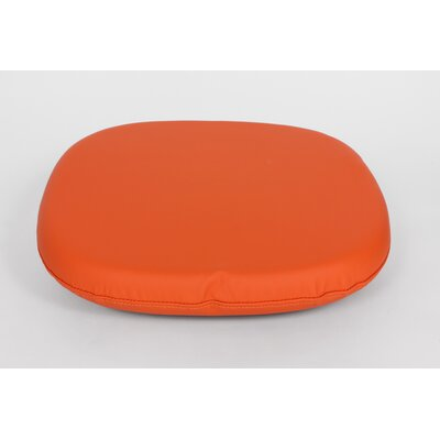 Dining Chair Cushion Size: 4.50 H x 17.50 W x 17.50 D, Color: Orange