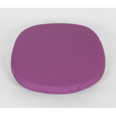 Dining Chair Cushion Size: 4.50 H x 17.50 W x 17.50 D, Color: Purple