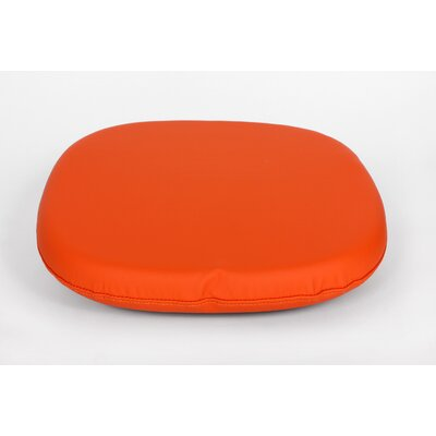 Dining Chair Cushion Color: Orange, Size: 4.50 H x 18.50 W x 18.50 D