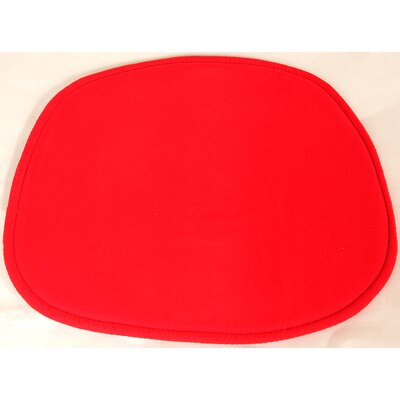 Dining Chair Cushion Color: Red