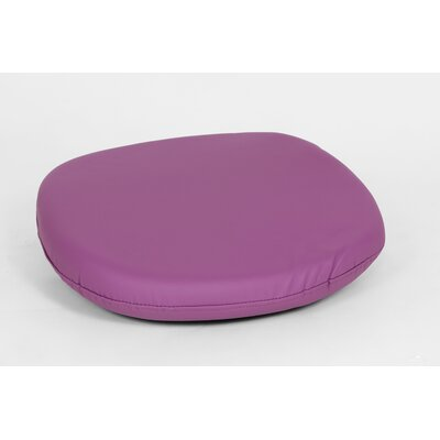 Dining Chair Cushion Color: Purple, Size: 4.50 H x 18.50 W x 18.50 D